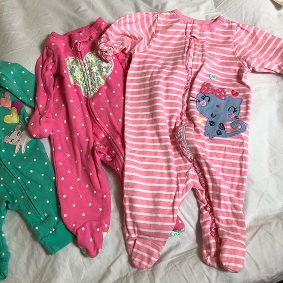 Carter's Other - newborn pajamas